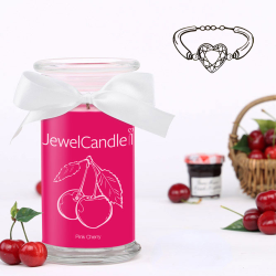 Bougie Jewelcandle Bracelet Pink Cherry