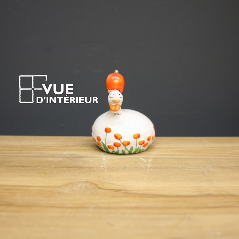 Poule Tulipe Orange PM Pondeuse