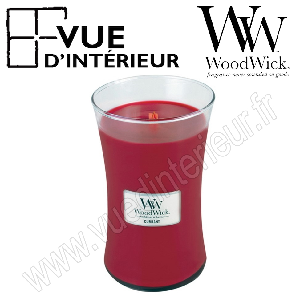 Jar Large WoodWick Currant Large Jar WoodWick