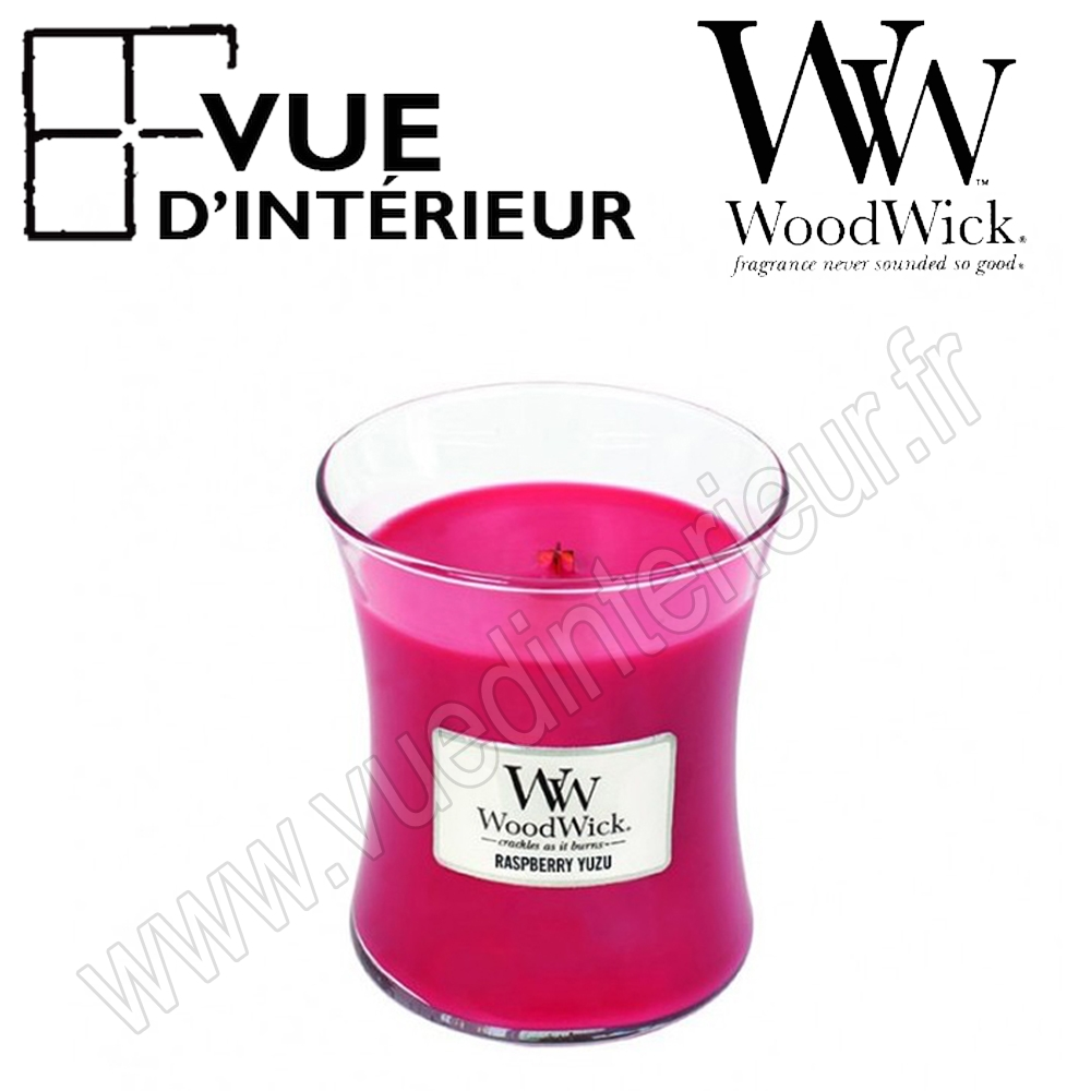 Jar Large WoodWick Raspberry Yuzu