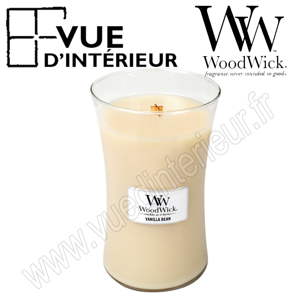Jar Large WoodWick Vanilla Bean