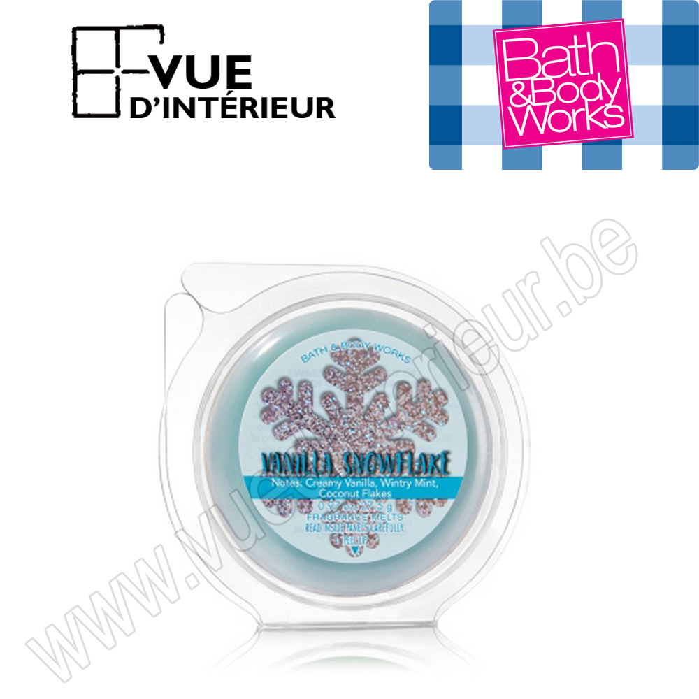 Wax Melts Vanilla Snowflake Pastille Parfum?e Bath And Body works