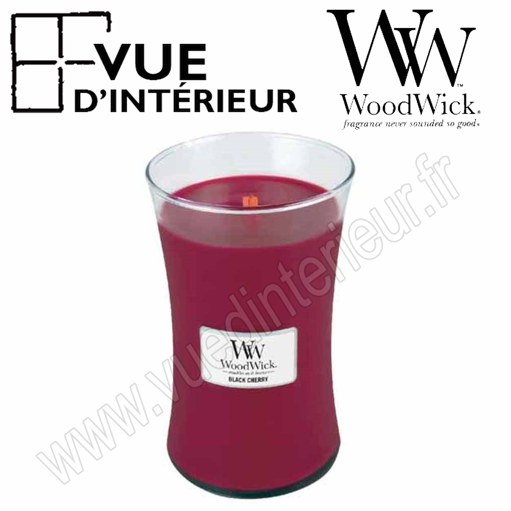 Jar Large WoodWick Black Cherry